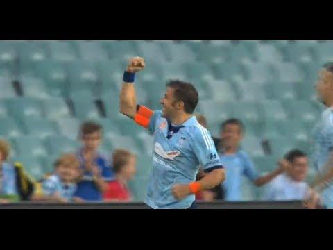 Sydney FC Vs Wellington Phoenix, Hyundai A League 2014 (Round 26)
