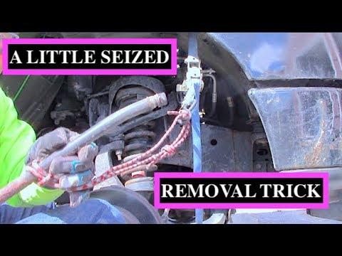 2005 ford f150 transmission dipstick tube removal