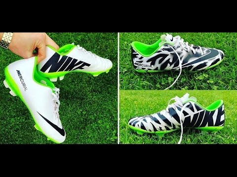 Spray Paint Soccer Cleats