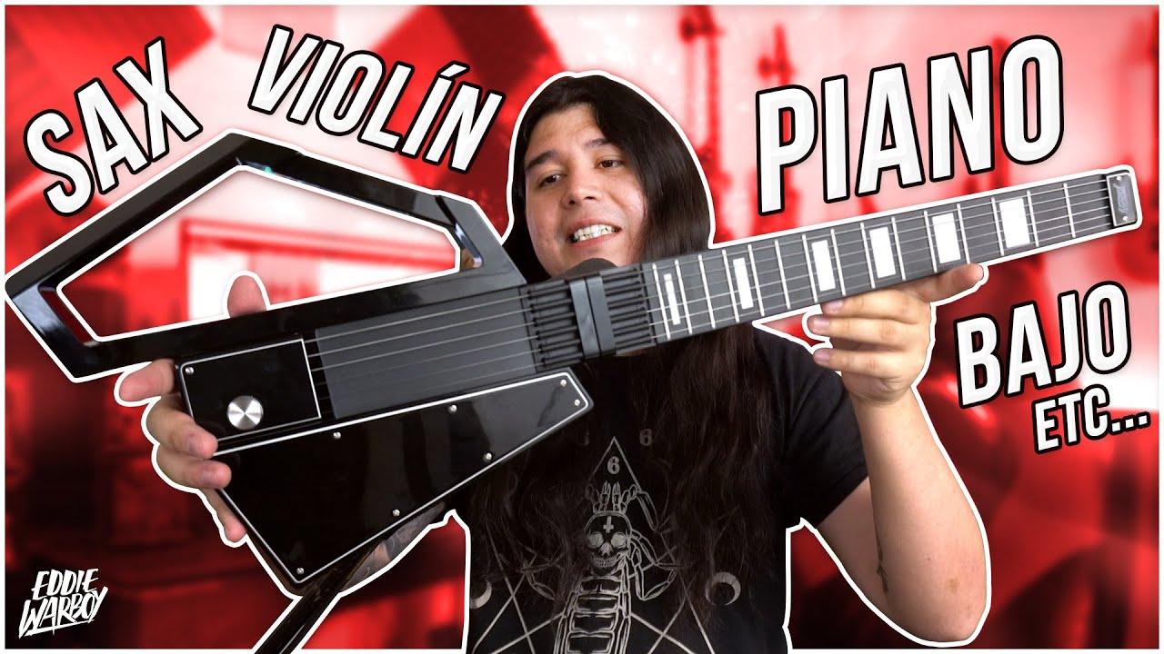 ¡ESTA GUITARRA SUENA A LO QUE TÚ QUIERAS! / Jammy Guitar Review | Eddie Warboy