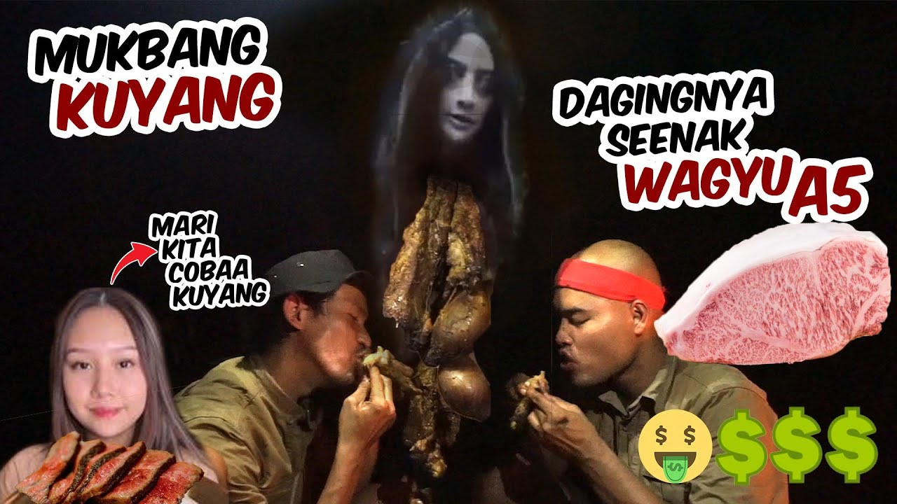 Mukbang KUYANG, Dagingnya seenak WAGYU A5 | @Sisca Kohl pengen coba?!