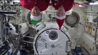 Holiday Greetings from the Space Station