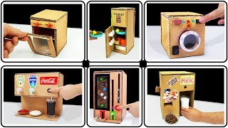 Top 10 Amazing Ideas And School Projects From Cardboard
