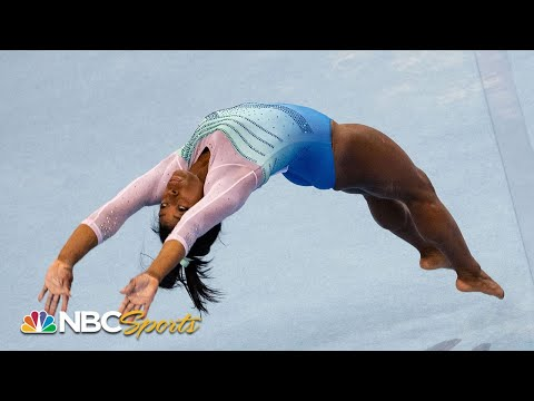 Simone Biles makes 2019 debut, wins all-around at Stuttgart World Cup | NBC Sports