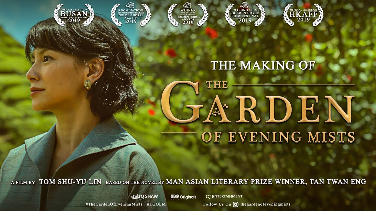 The Making Of The Garden Of Evening Mists Youtube