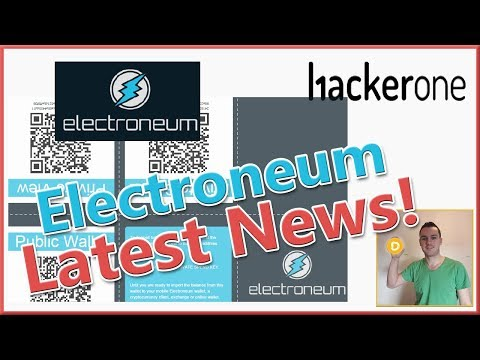 Electroneum Latest News Updates and Common Wallet Issues