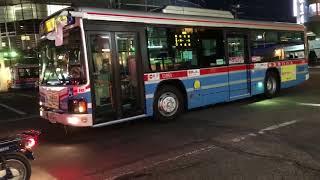 【はたらく車】京浜急行バスが鎌倉到着