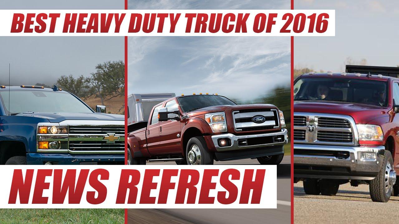 Silverado hd vs ford super duty vs ram cummins best heavy duty truck of 2016 youtube