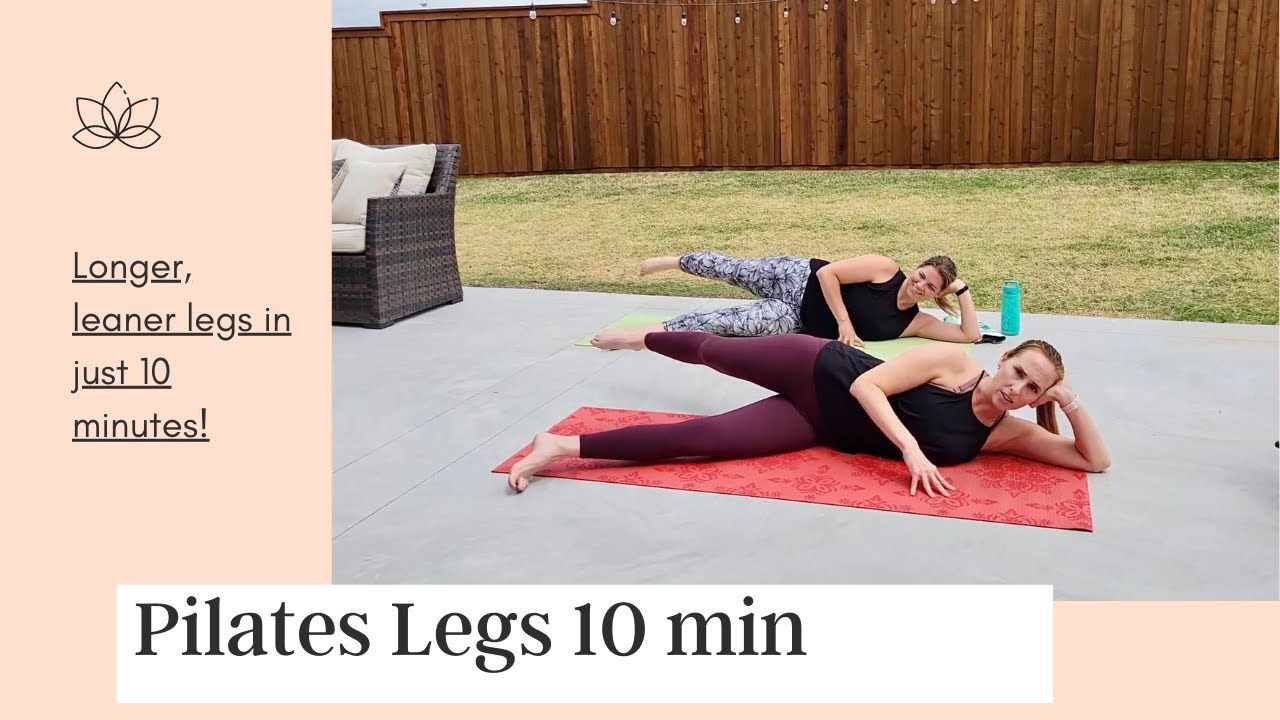 Pilates Legs in just 10 minutes!