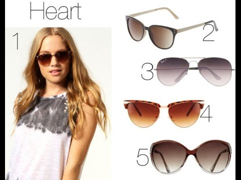 Heart Face Glasses