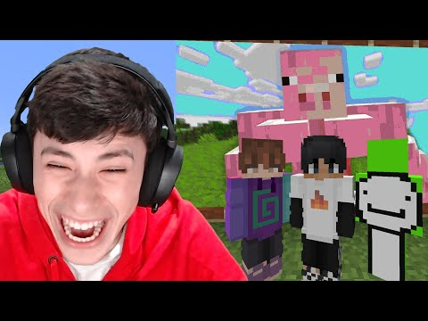 Minecraft, But If You Laugh You Lose... - GeorgeNotFound