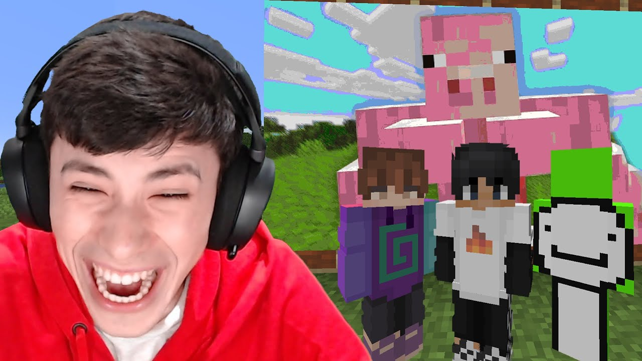 Minecraft, But If You Laugh You Lose... - YouTube