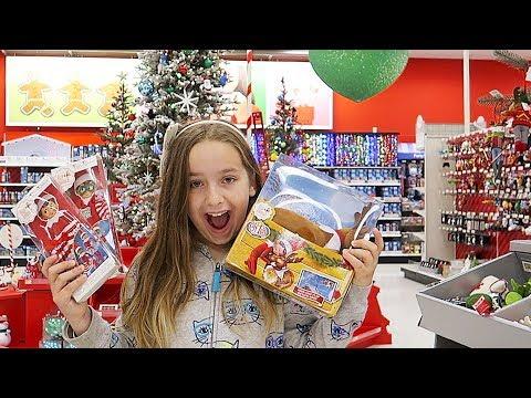 Elf On The Shelf Elves Return | Are Our Elves Back? Shopping For The Elves