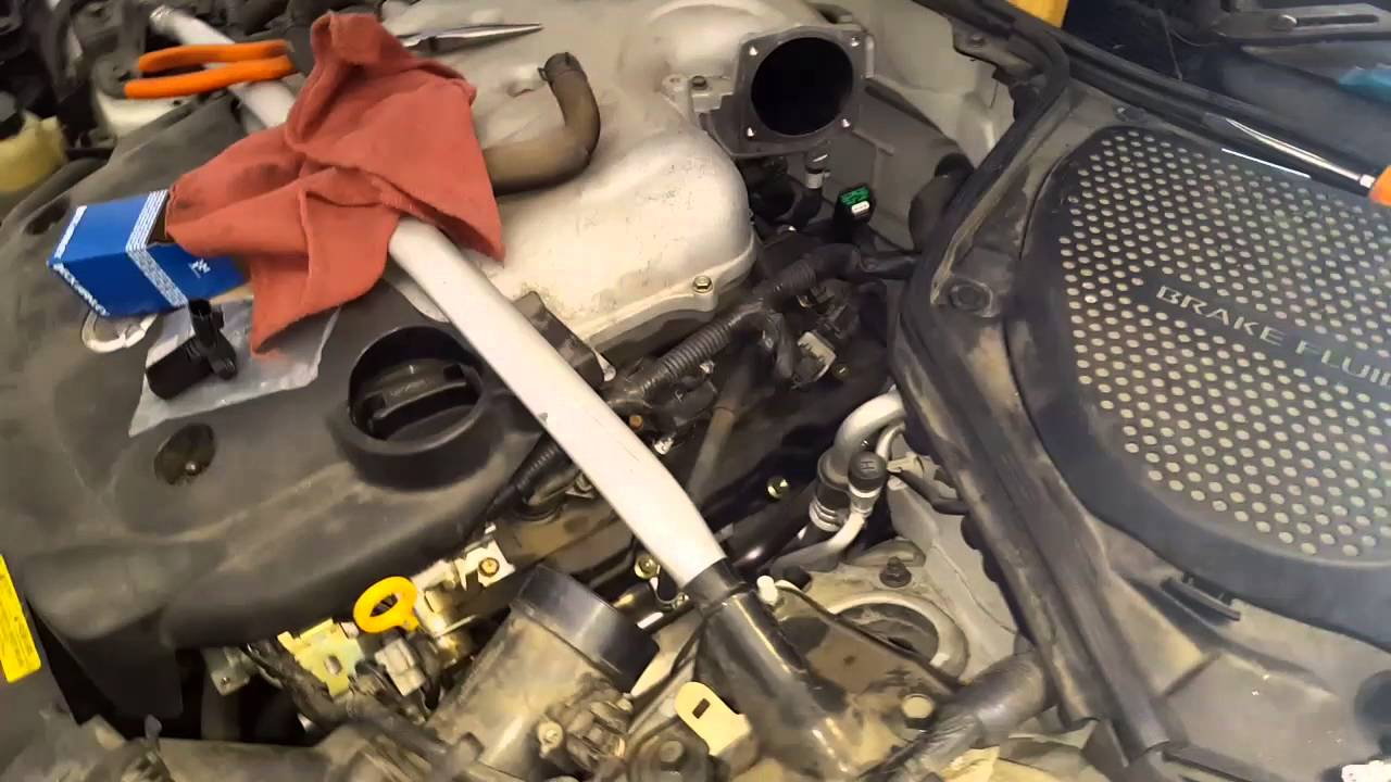 Part 1 Of 3 2005 Nissan 350z Camshaft Timing Sensor