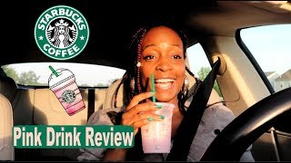 Trying Starbucks Pink Drink ~ an Honest F.A.B. Review