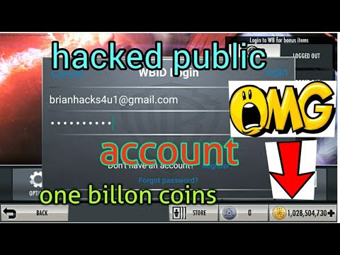 Injustice free HACKED public Account (2017)
