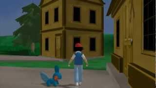 Pokemon 3D Para PC - Ash Galinha