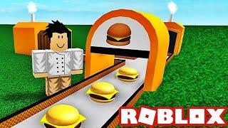 I OPEN A RESTAURANT BURGER! Roblox