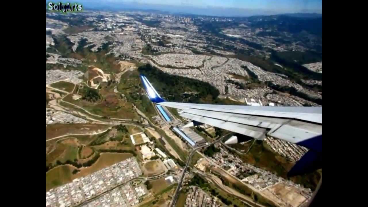 Aterrizaje De Avion Completo En Guatemala Hd Full