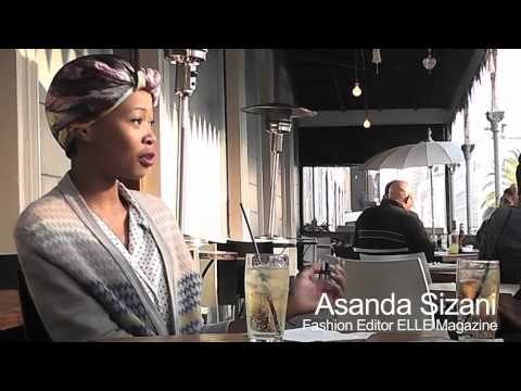 Atf_Africa meets Asanda Sizani - Fashion Editor of Elle Magazine South Africa