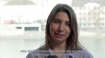 An der Universität Basel studieren: Duygu, Geowissenschaften und Archäologie (Türkçe)