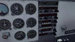 [LIVE] Cessna 182 / Em busca de Riverside (4WA8) Parte 2 :)