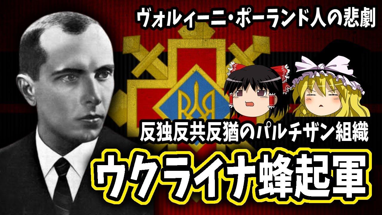 【ゆっくり解説】ウクライナ蜂起軍
