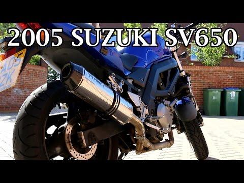 2005 Suzuki SV650 - Motorcycle Review