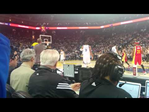 Courtside @ Golden State Warriors vs. Houston Rockets - Dec 10, 2014