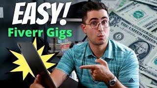 3 Easy Fiverr Gigs to Make Money Online Using Fiverr