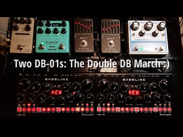 Jam with two Erica Synths DB-01s: The Double DB March