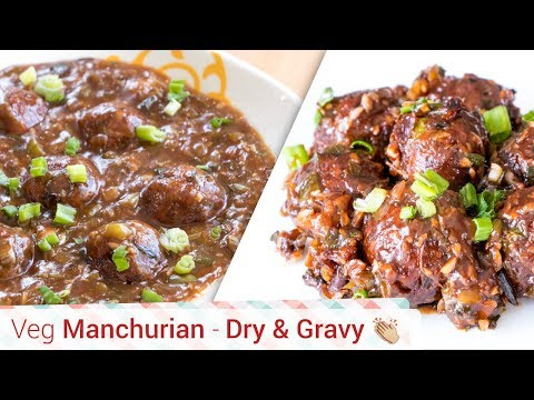 Veg Manchurian Recipe-Veg Manchurian Dry-Veg Manchurian Gravy, Something's cooking with alpa, alpa