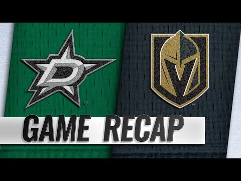 Golden Knights beat Stars for fifth straight home win