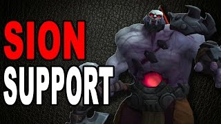 Sion Support | Guide/Analyse [GER]