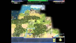 Civ 4 Deity 61 ( Shaka ), part 1 of 5