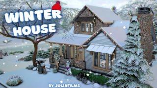 Зимний дом│Строительство│Winter House│SpeedBuild│NO CC [The Sims 4]