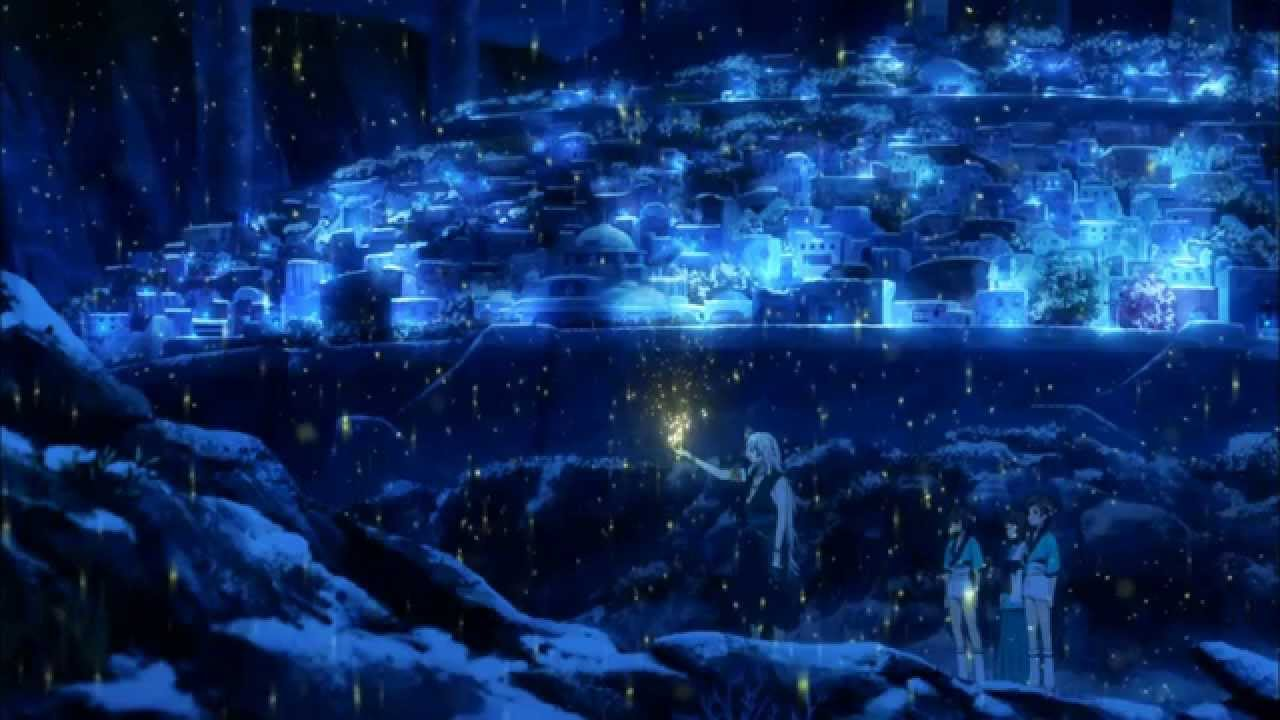 Girl Under Rain Live Wallpaper Yoshiaki Dewa The Best Of Nagi No Asukara Ost Vol 1