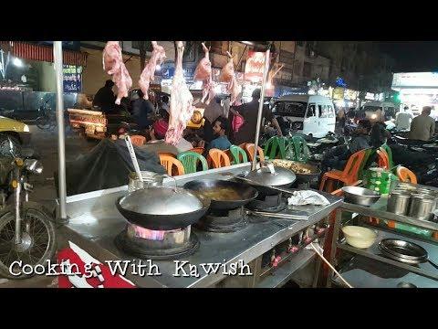 Hussainabad Food Street of Karachi | Street Food Pakistan | Street food Karachi