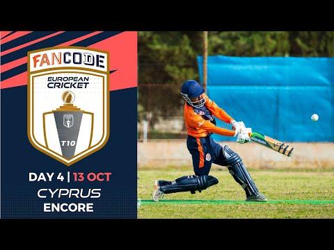 🔴 FanCode European Cricket T10 Cyprus Encore, 2021 | Day 4 | T10 Live Cricket