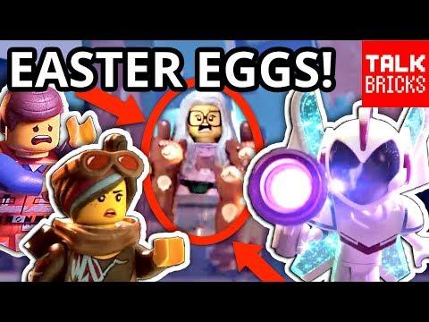 LEGO MOVIE 2 Teaser Trailer Breakdown! ALL EASTER EGGS! Mini Doll Villain?! Space Musical?!