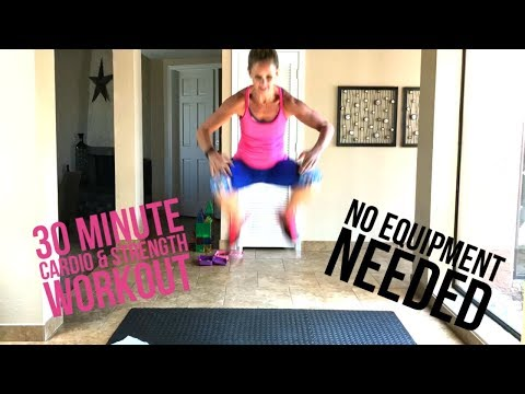 EMOM Advanced At Home Workout-No Equipment Needed