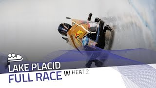 Lake Placid | BMW IBSF World Cup 2019/2020 - Women's Bobsleigh Heat 2 | IBSF Official