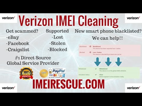 How To Fix Blacklisted Verizon iPhone 7+ Plus IMEI Cleaning Blacklist  Repair Unblock Unblacklist Fix