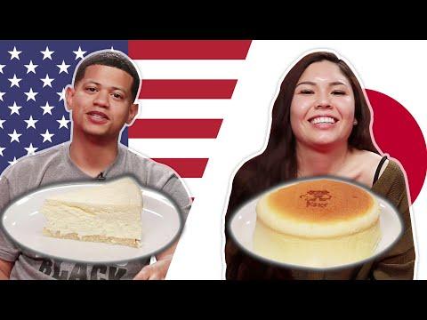 Japanese Vs NY Cheesecake