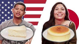 Japanese Vs. NY Cheesecake