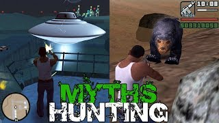 GTA San Andreas Myths and Legends FOUND | HUNTING