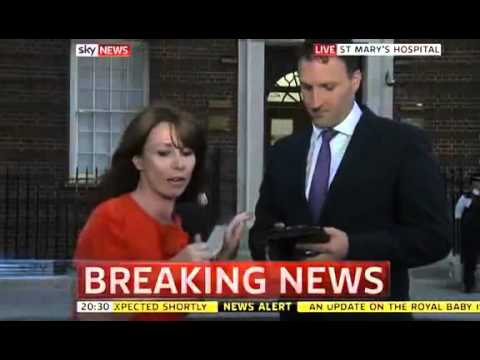 It's a boy! Catherine gives birth to royal baby - 동영상