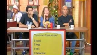 Burger Quizz _ Alain Chabat - Eric, Ramzy, Joey Starr, A. de Petrini - part 1.avi