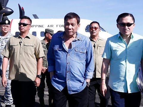 Duterte says waging war with China a 'winless' battle