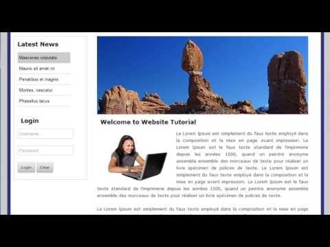 How To Convert/customize  Html Template Into Joomla 2.5 Part-1
